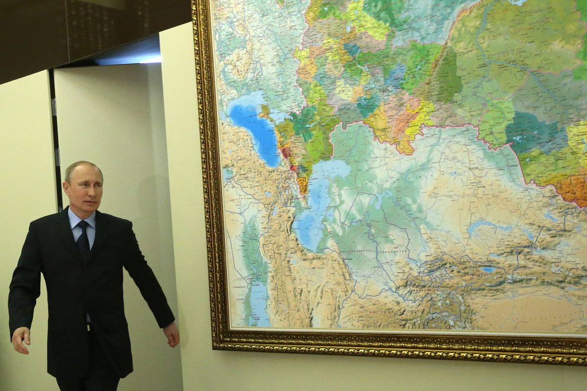 Pretty impressive how quickly Russia updated all its maps to include Crimea