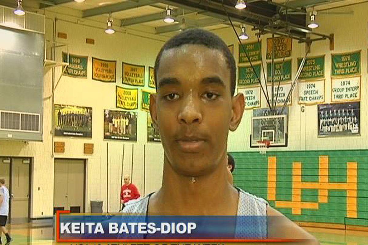 The newest Buckeye basketball commit, Keita Bates-Diop