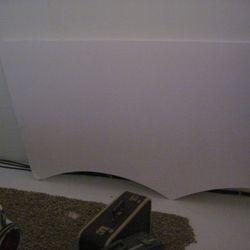 Relax! It was just foam core board!