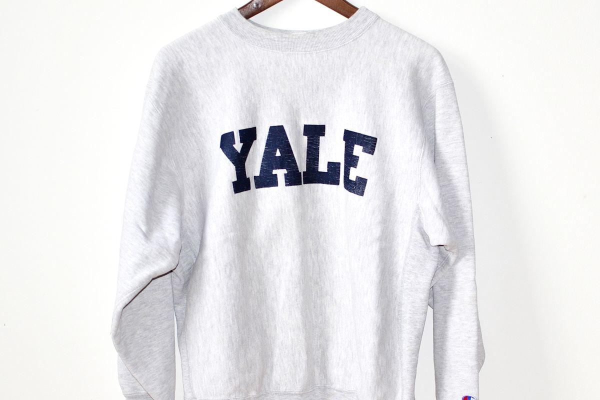 A vintage Yale sweatshirt