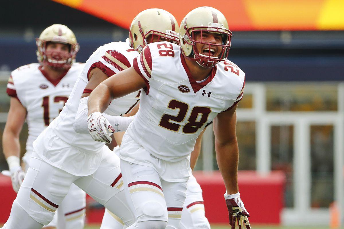 NCAA Football: Boston College vs Massachusetts