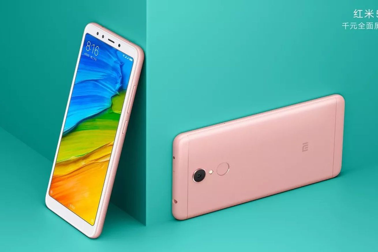 photo image Xiaomi's Redmi 5 phones have 18:9 displays and start at $120