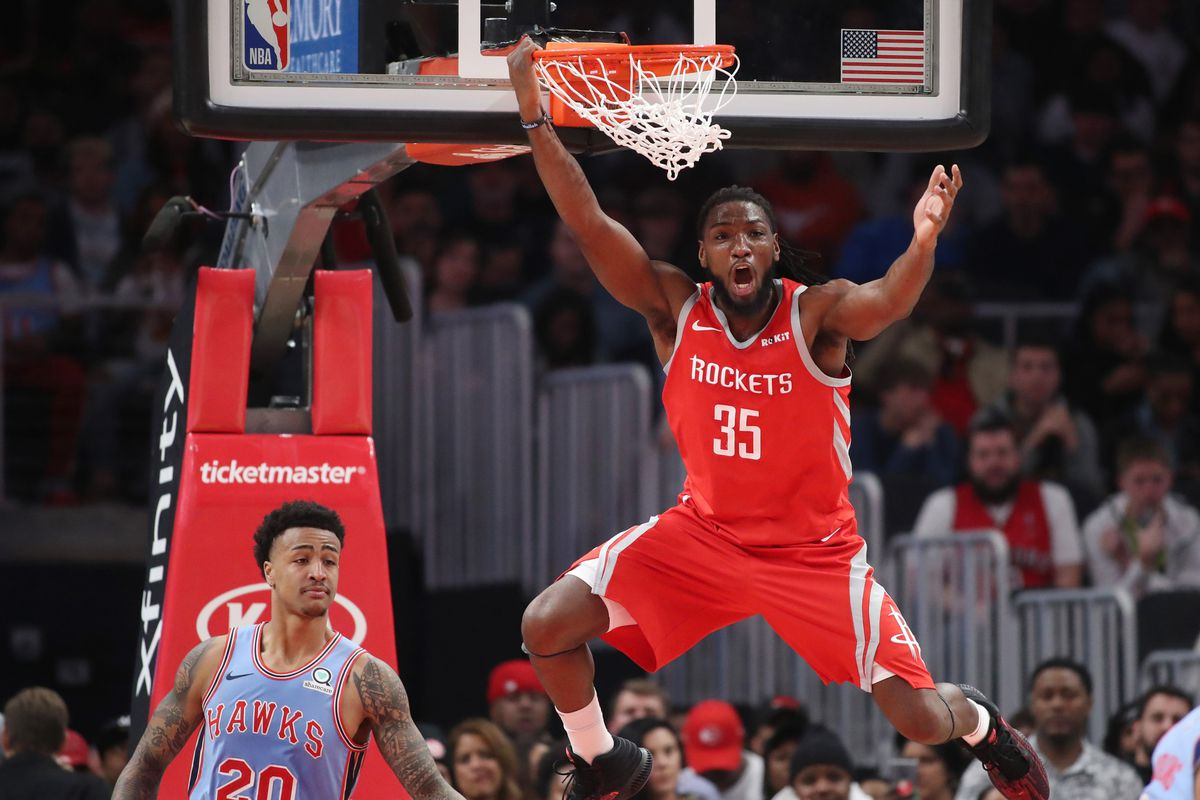 Image result for kenneth faried houston rockets