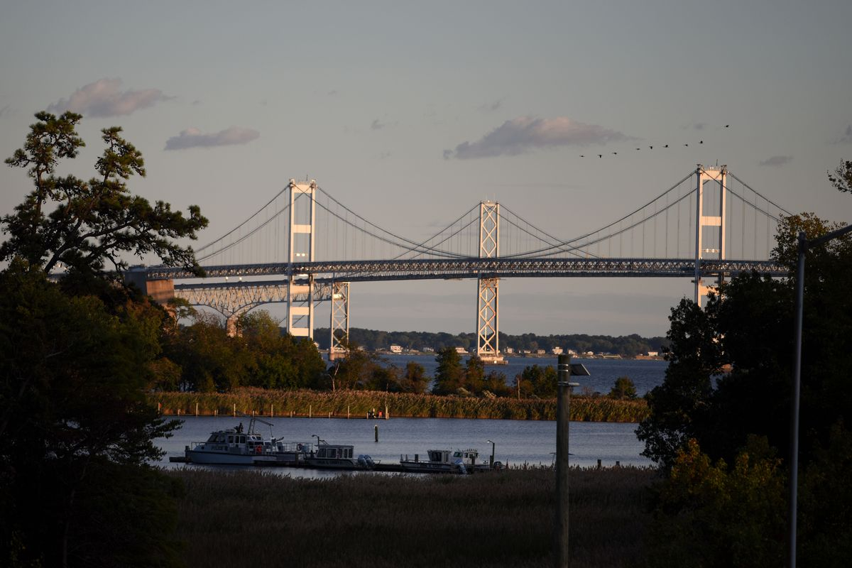 Bay Bridge construction making crossing the Chesapeake a slow moving nightmare
