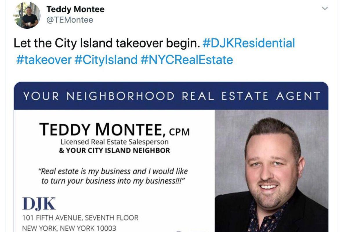 City Island resident Teddy Montee