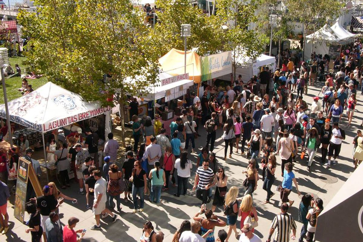 The 2014 Eat Real festival.