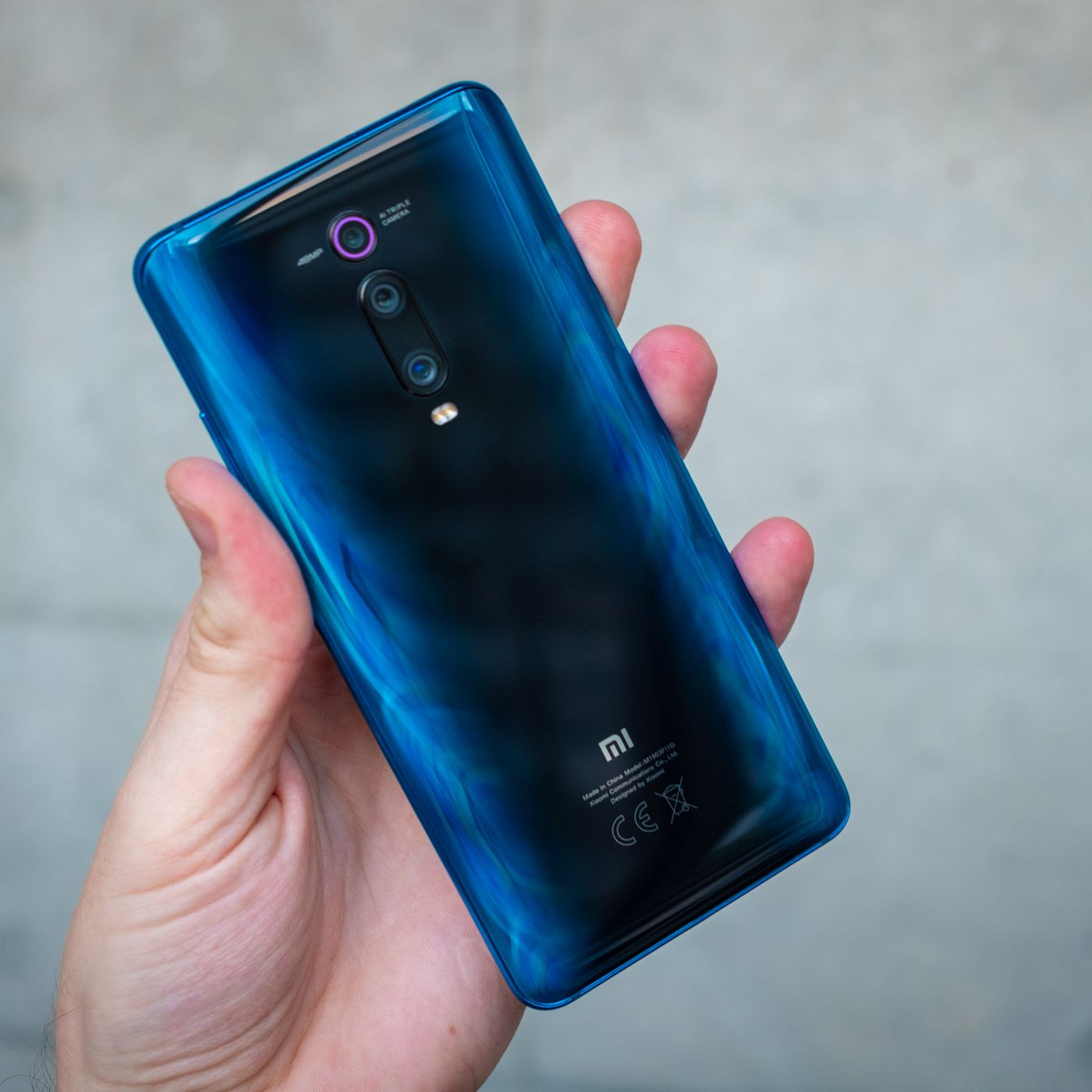 Design and build quality of the Xiaomi Mi 9