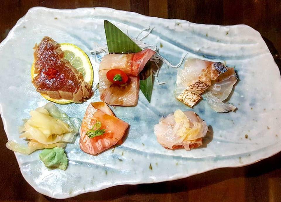 Sashimi at Cafe Sushi