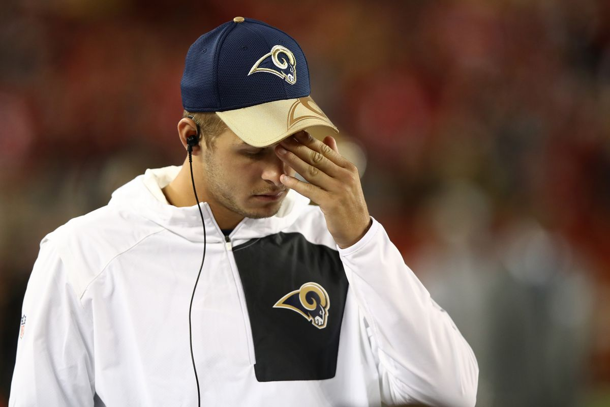 Even Jared Goff is embarrassed to be part of this.