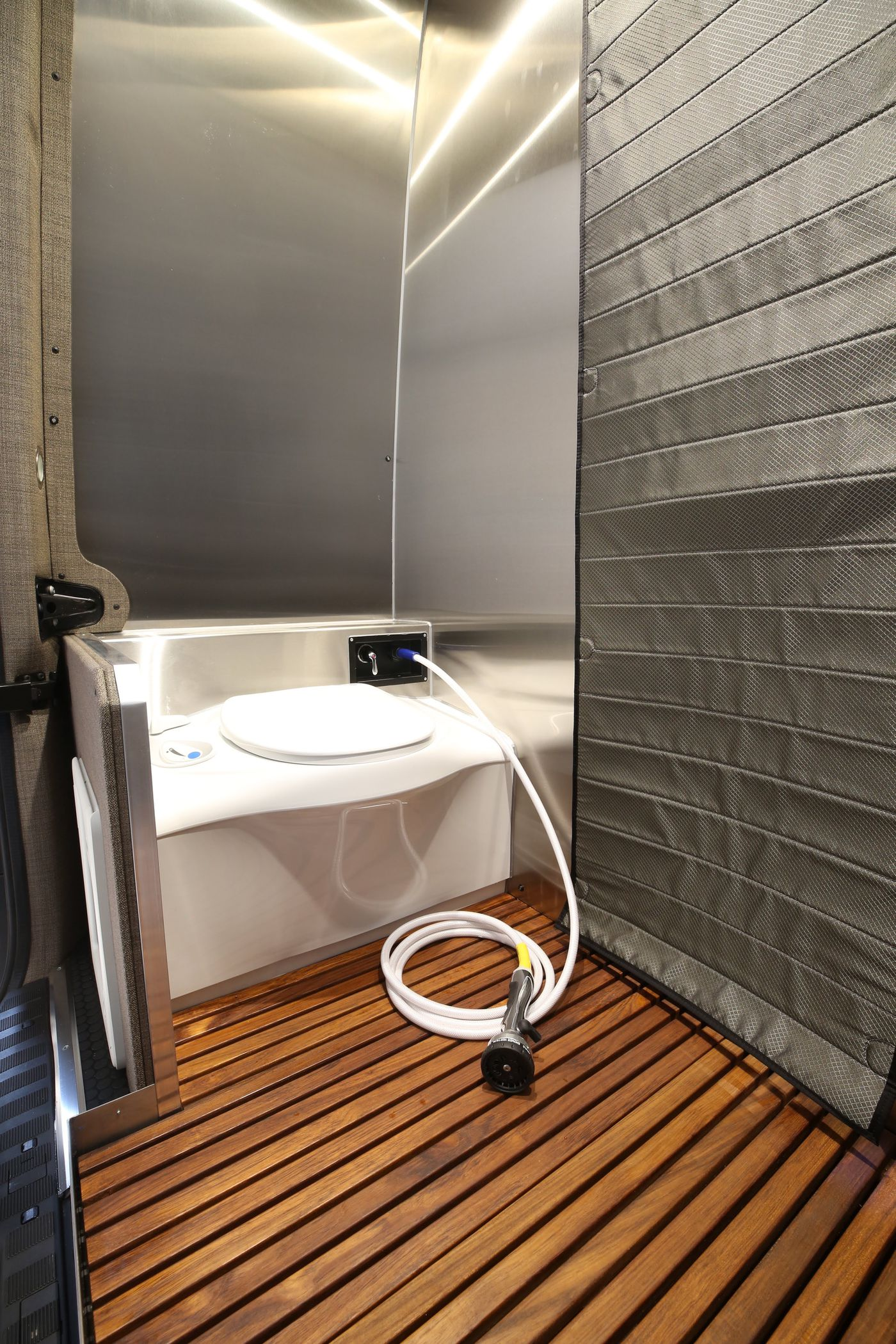Camper Van Sleeps Four And Hides A Clever Bathroom Curbed