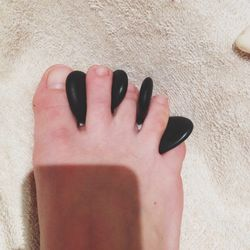 After distracting Lily long enough to close the door, I headed to <b>Tenoverten</b> for hot stone pedicure, courtesy of DNA Publicity. If you've never had a hot stone anything, I highly recommend it—so luxurious!