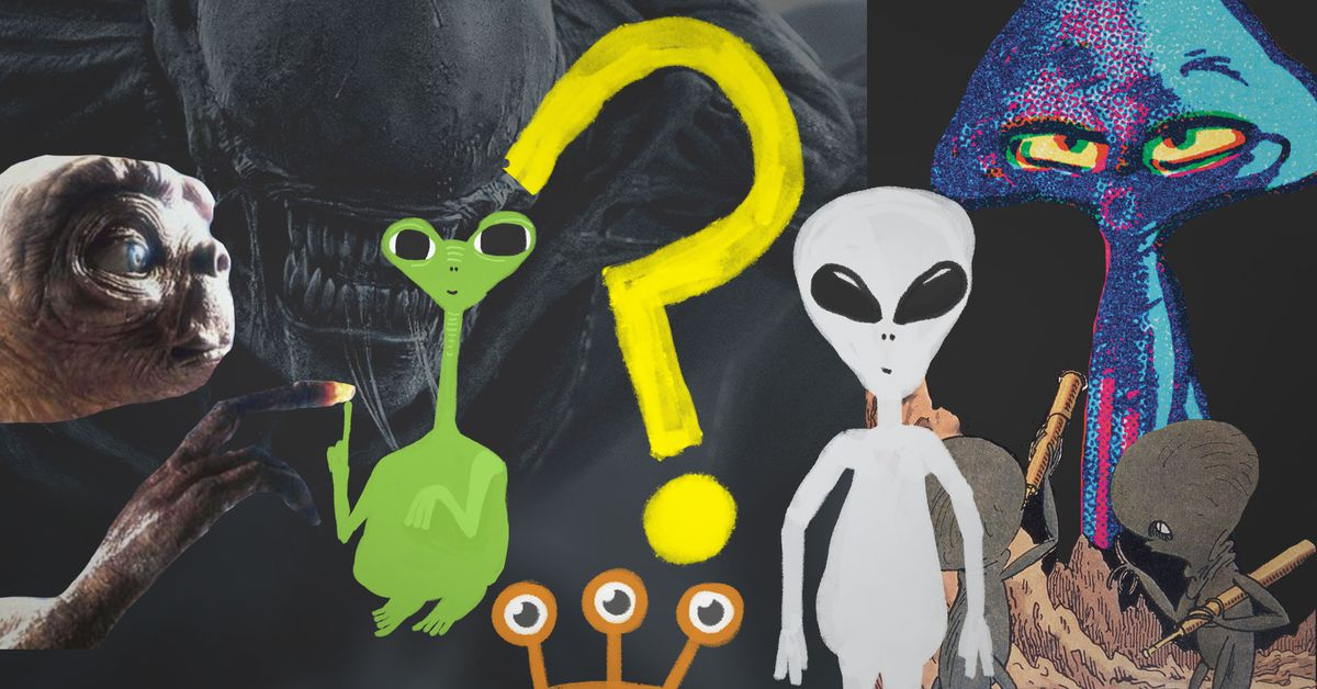 Why we imagine aliens the way we do - Vox