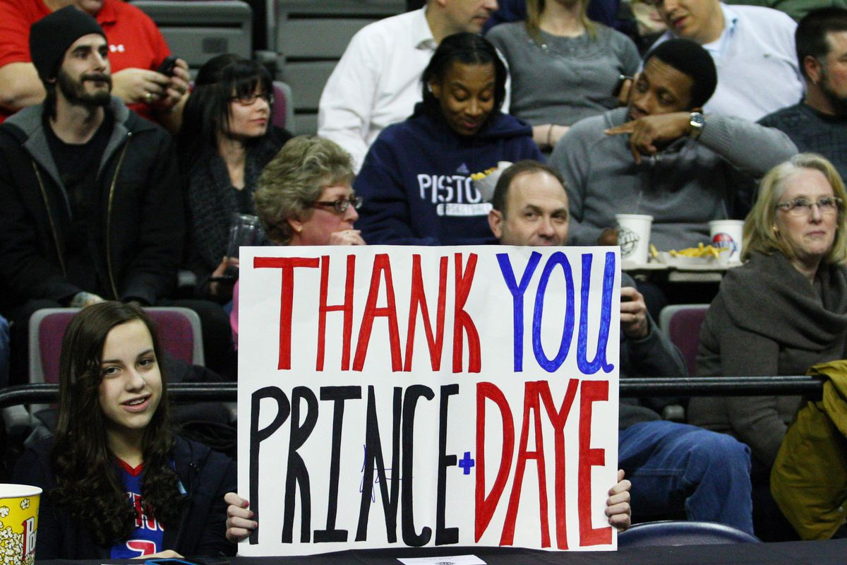 This guy probably wasn't feeling so friendly after the Grizzlies stomped on the Pistons.