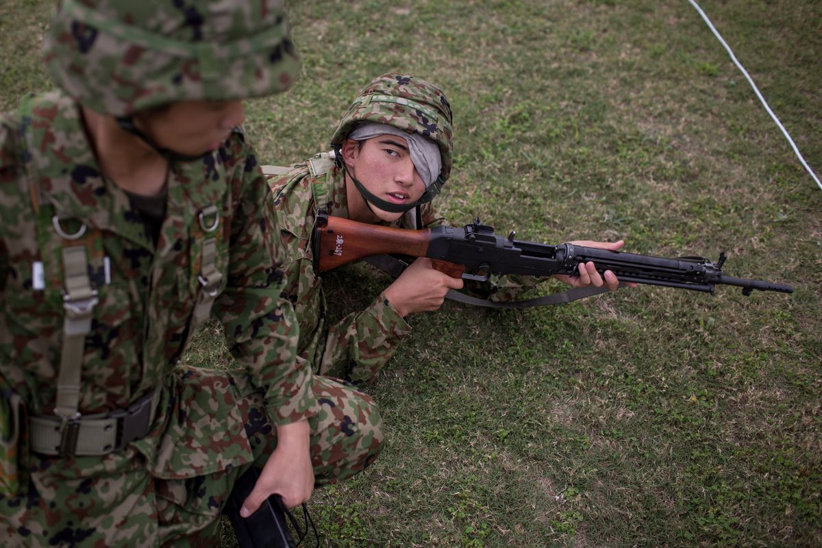 Daily Life At Japan's Only Self-Defense Force High School