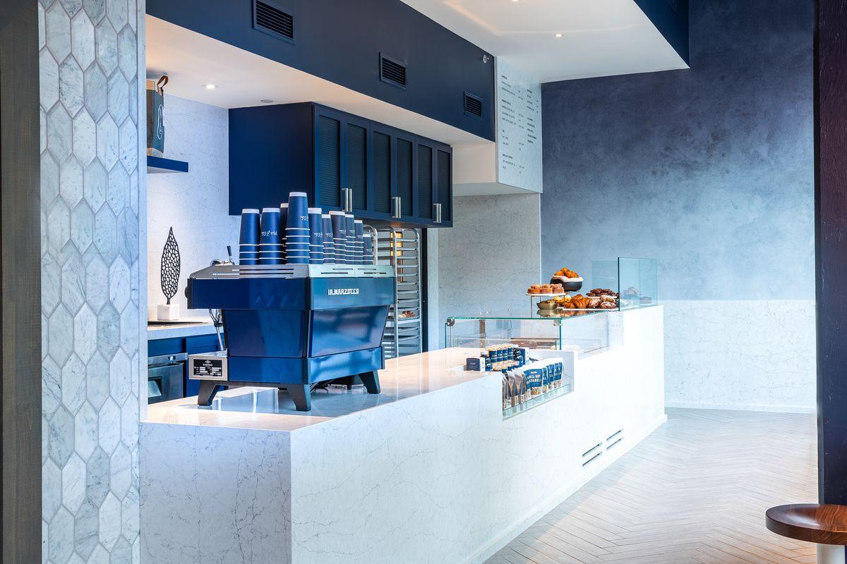The ordering counter at Mah-Ze-Dahr's new D.C. bakery