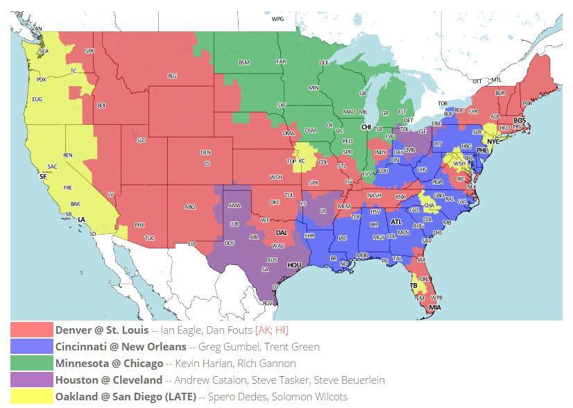 Week 11 506 Map CBS Early
