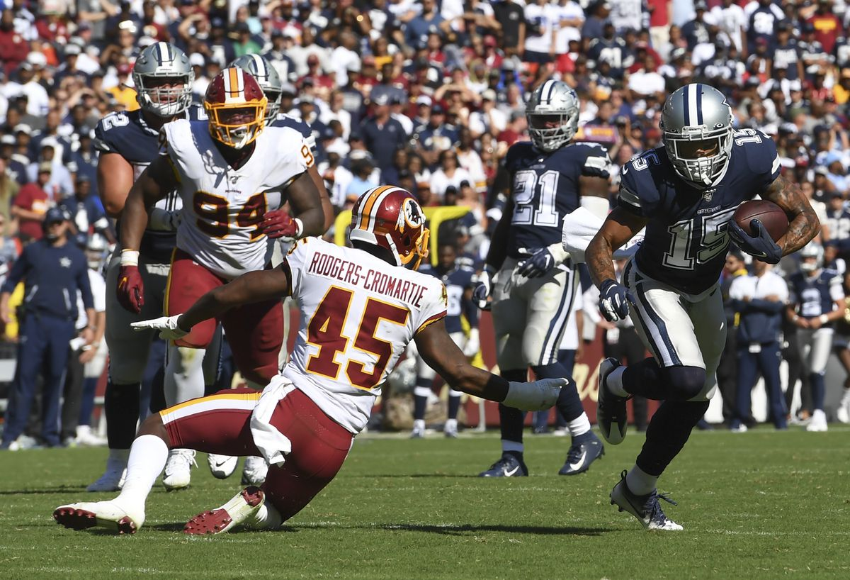 NFL Dallas Cowboys at Washington Redskins