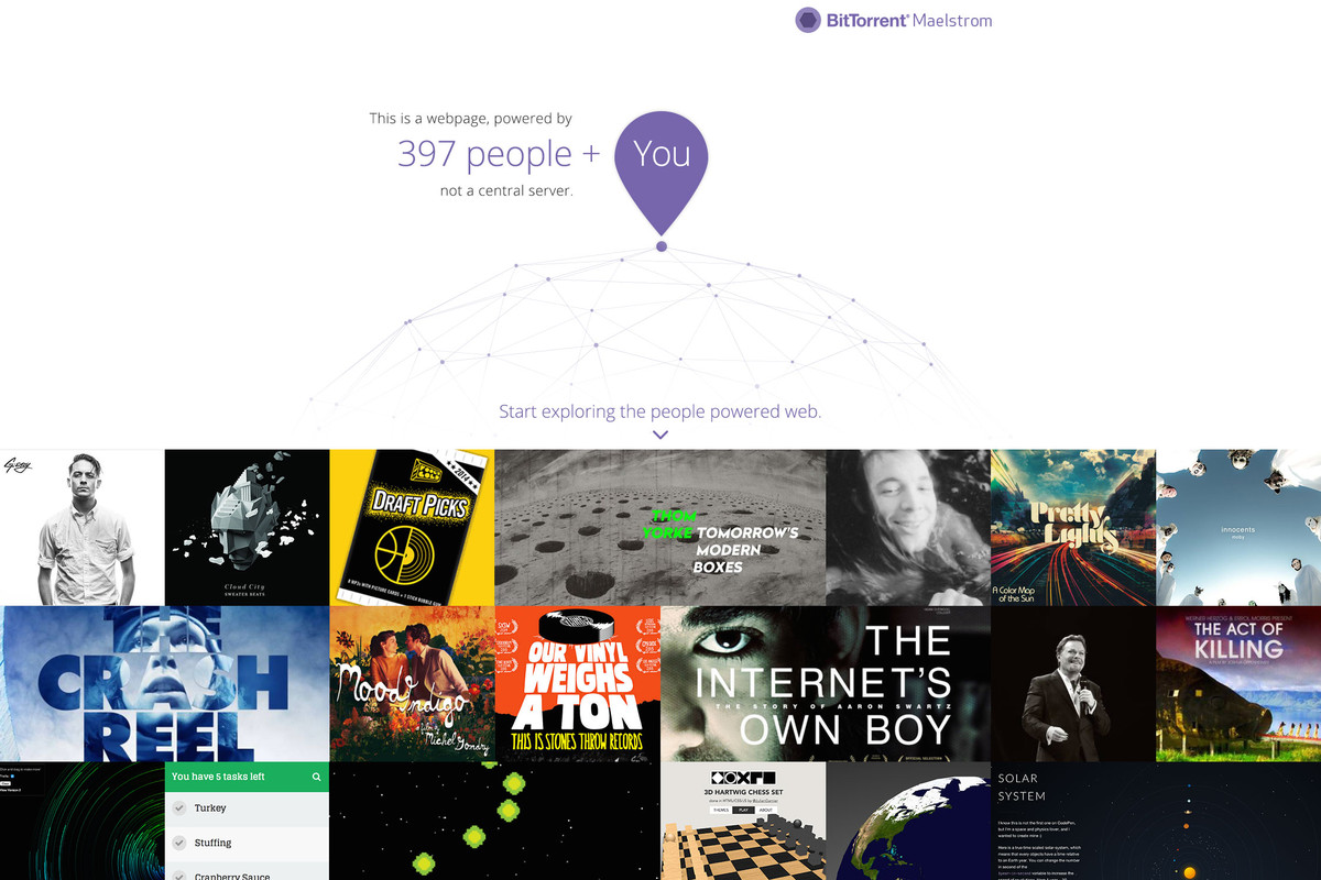 BitTorrent wants to change the way the web is built