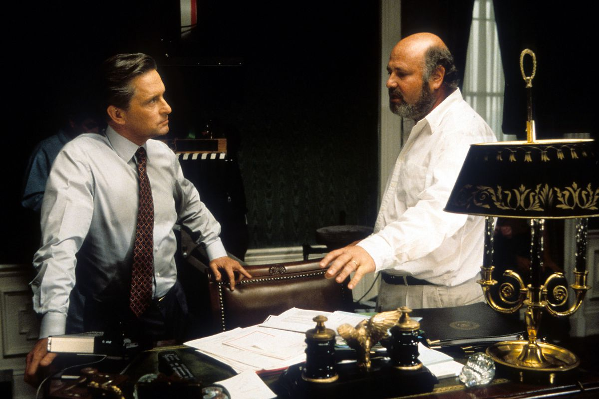 Michael Douglas And Rob Reiner In 'The American President'