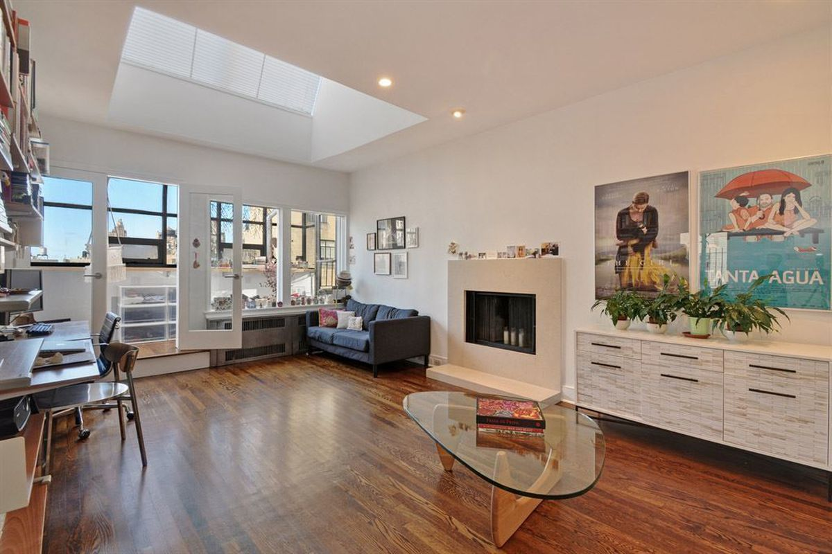 Big reveal: $1.3m for an upper west side penthouse with two terraces