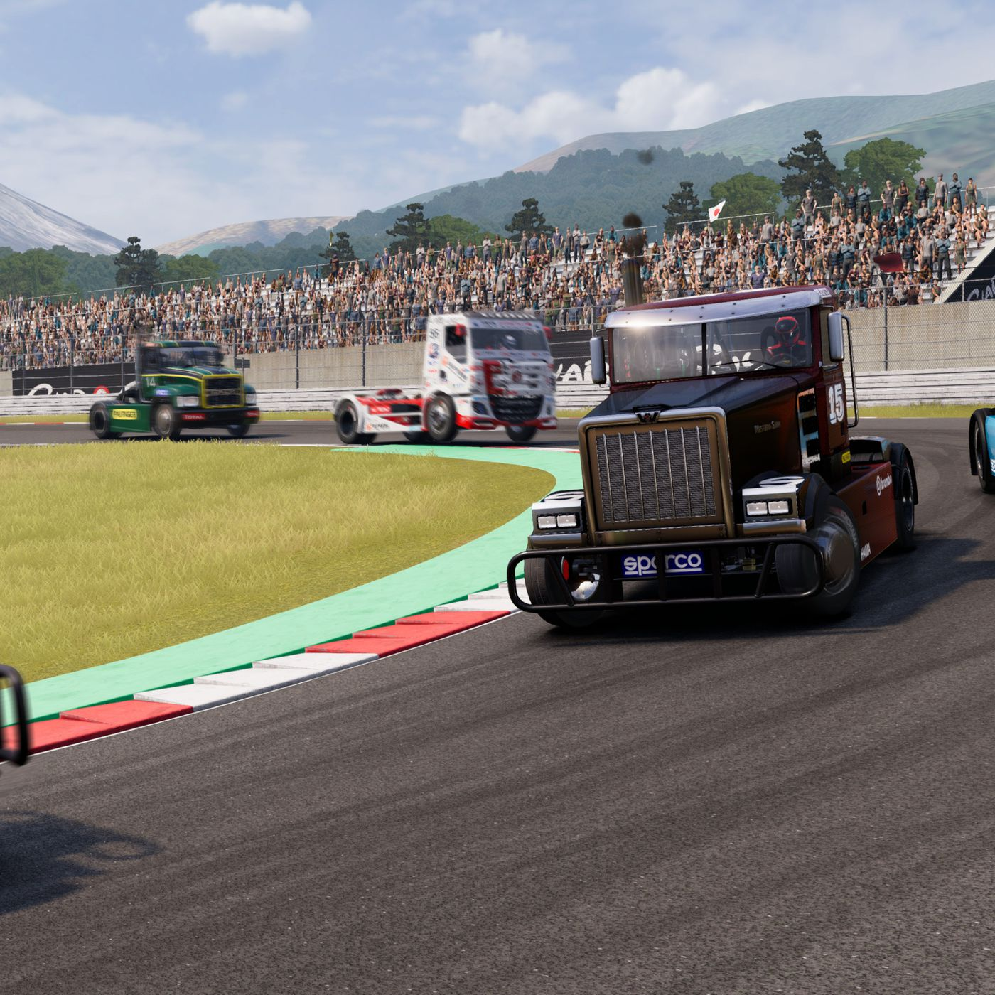 Image result for Hot damn, there's a big rig racing game out this month