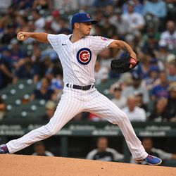 Zach Davies, Cubs starting pitcher on Saturday