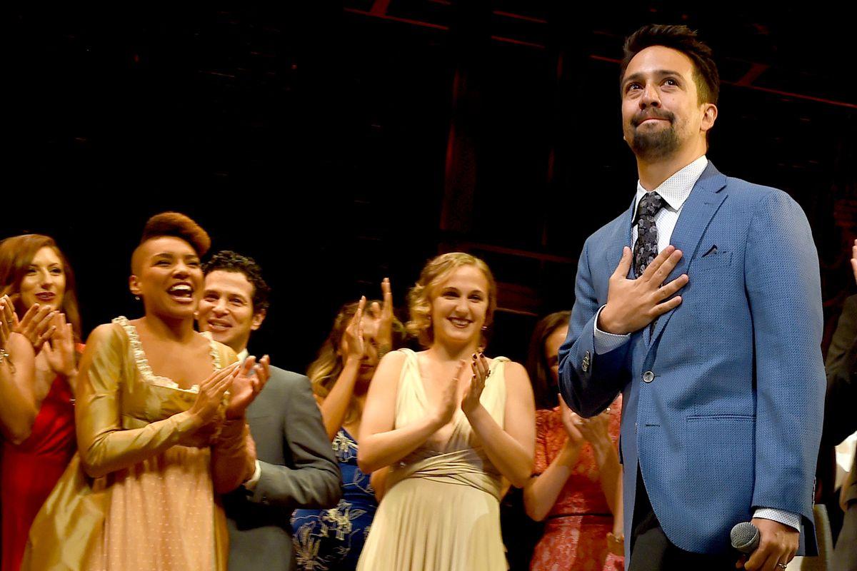 'Hamilton' Opening Night Curtain Call
