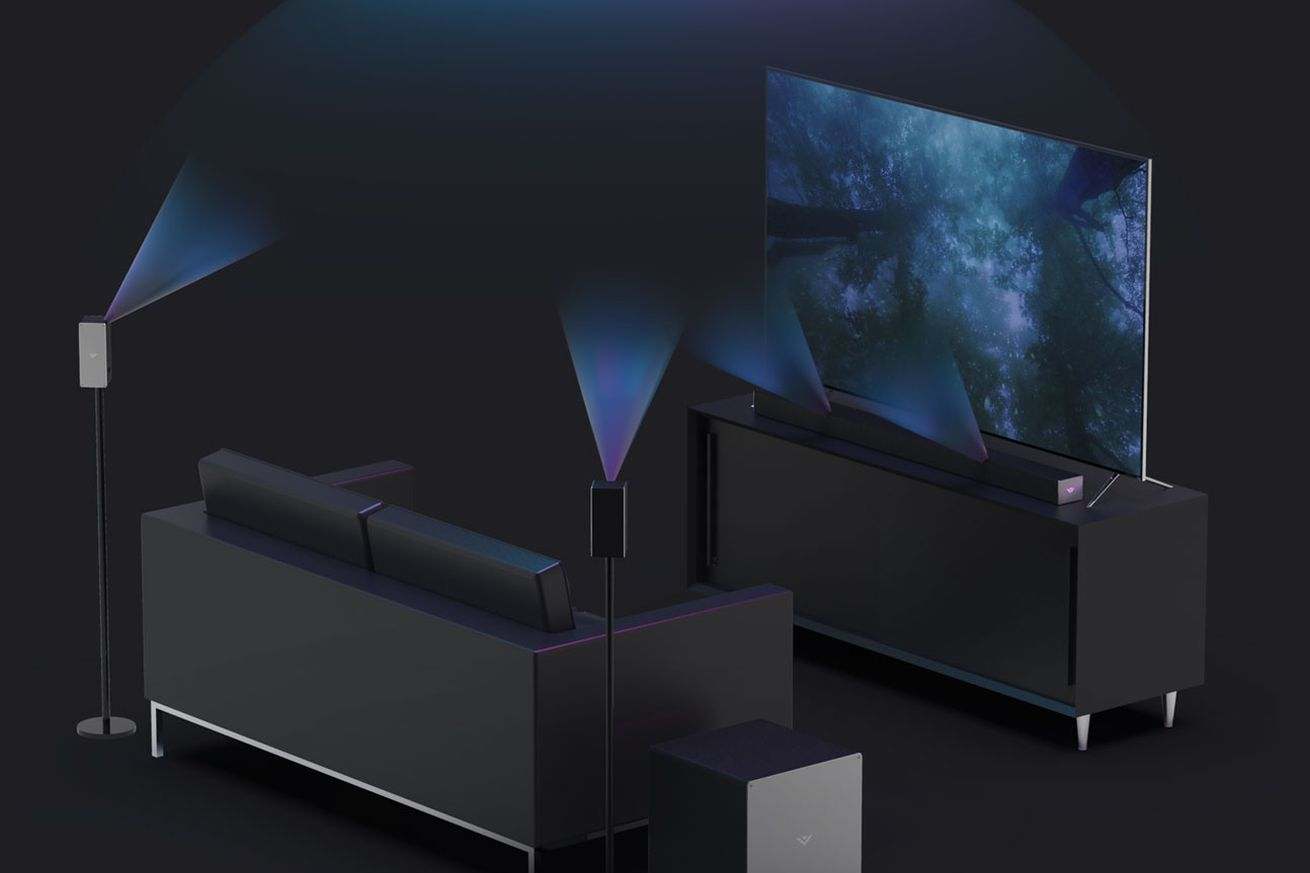 vizio s first atmos surround sound system is out now and it s surprisingly affordable