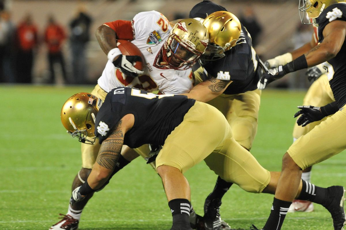 Notre Dame vs. Florida State: now a conference battle. Sort of.
