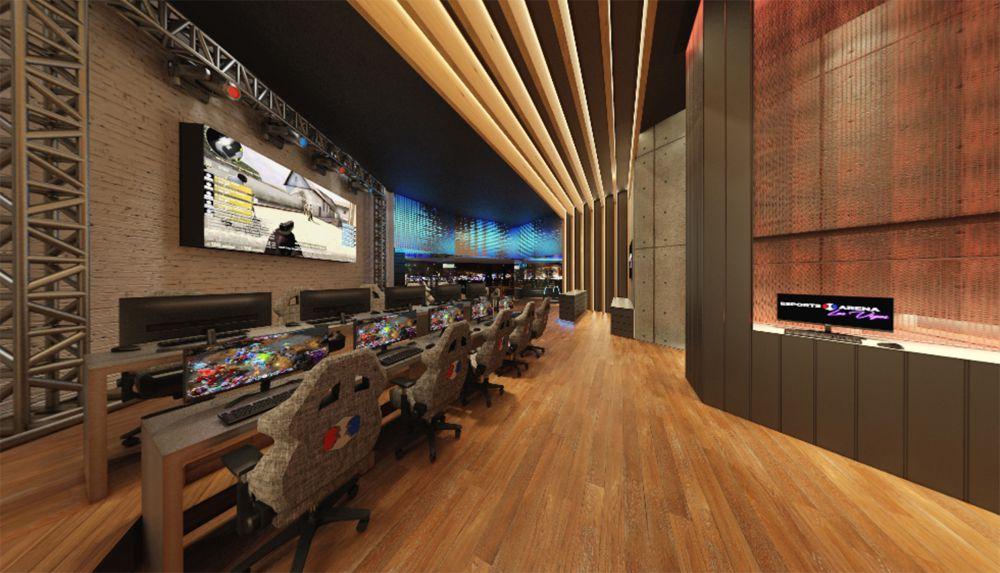 Esports Arena Las Vegas rendering YWS Design & Architecture