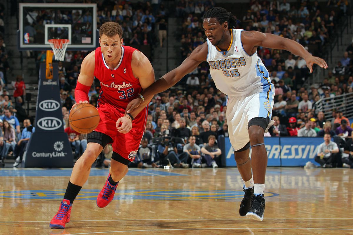 Blake Griffin and Kenneth Faried.