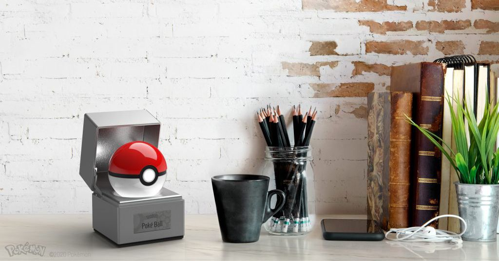 This motion-activated poké ball'must never be thrown'