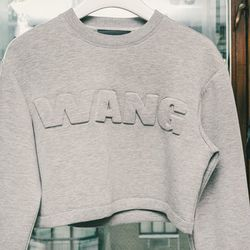 <b>Kids these days aren't dreaming big enough</b><br> I spoke with the first four shoppers in the line about what they wanted from the collection, and they were firmly focused on Wang sweatshirts, beanies, and socks. No jackets. No booties. No $349 leat