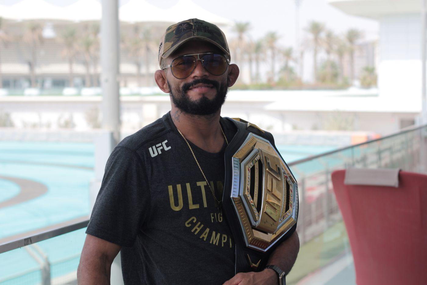 Deiveson Figueiredo's 2021 wishlist: PPV points, 130-pound 'BMF' belt vs. Henry Cejudo - MMA Fighting