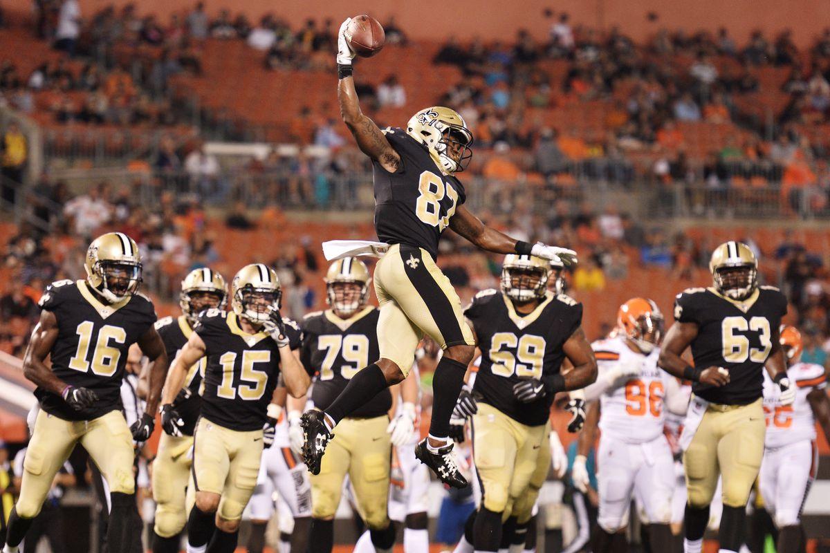 NFL: New Orleans Saints at Cleveland Browns