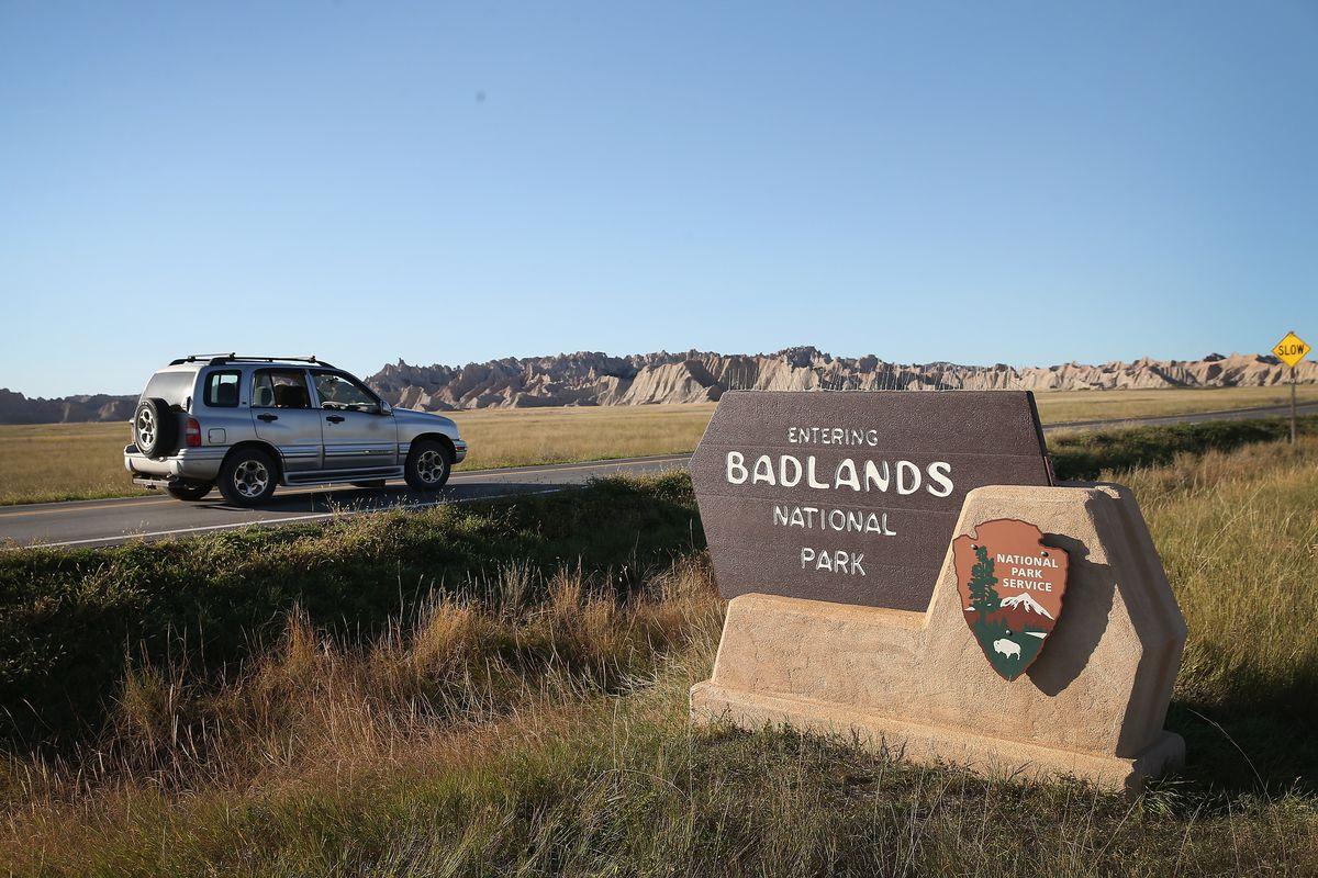 Badlands National Park Closed Due To Government Shutdown