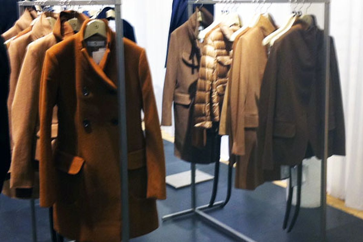 Sigh: Camel coats by +J