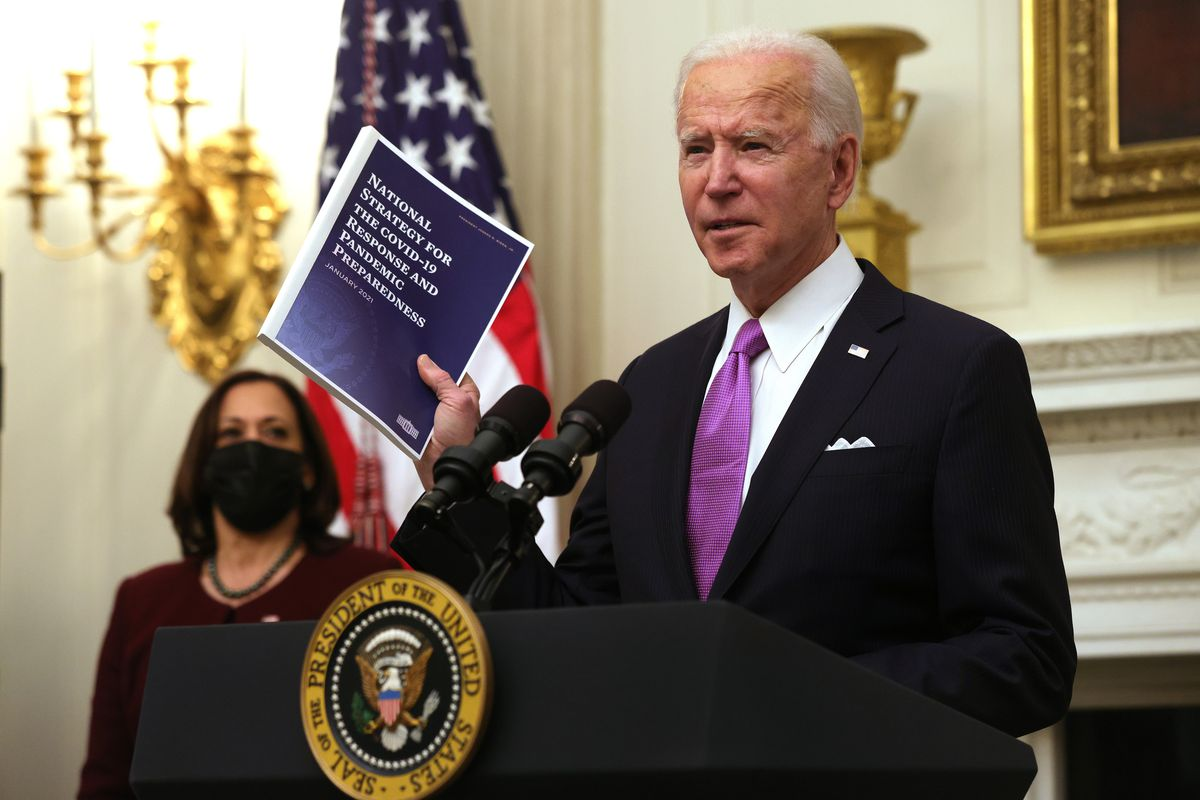 President Biden unveiled his national strategy for reopening schools on January 21, 2021.