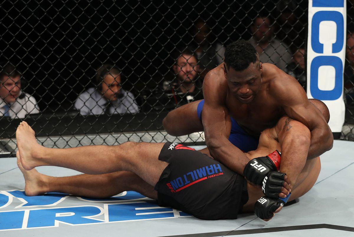 UFC Fight Night: Ngannou v Hamilton