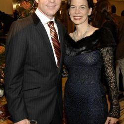 Bobby Flay with Food & Wine editor-in-chief Dana Cowin.