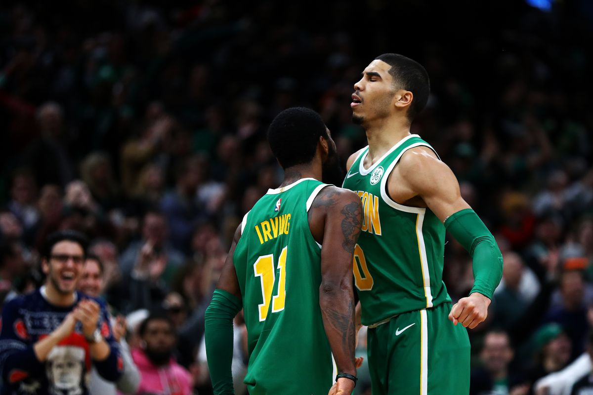 89ae1474e Kyrie Irving s Christmas Day performance vs Sixers won t be forgotten any  time soon - The Garden Report