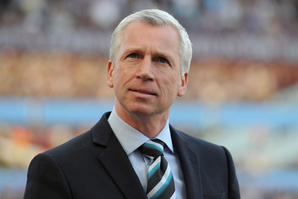 There are no photos of Mevlut Erding in our database, so here's Confused Alan Pardew.