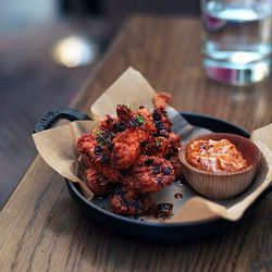 Spanish Fried Chicken at A.O.C. by naftels