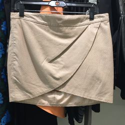 Mason perforated leather skirt, size 6, $163.60 (was $598)