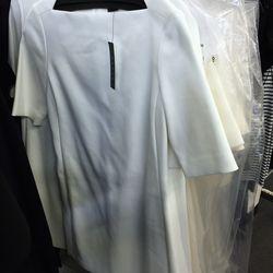 Off-white Harkin dress, $149 (was $345)