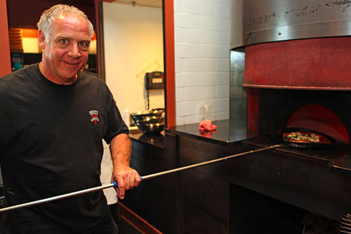 Mark Dym of Marco's Coal Fired Pizza