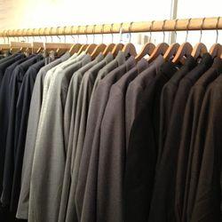 Men's suiting, $412.50 (originally $825)