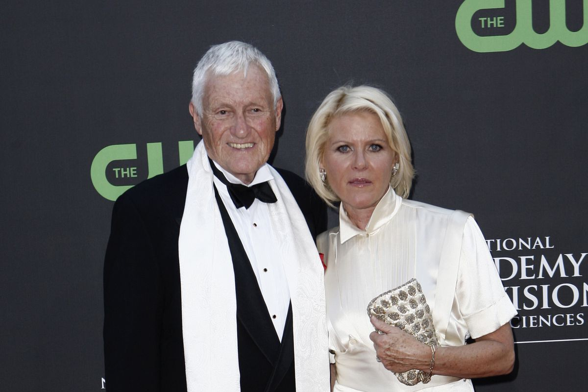 Actor and comedian Orson Bean and Alley Mills arrive at the Daytime Emmy Awards in Los Angeles in 2009.