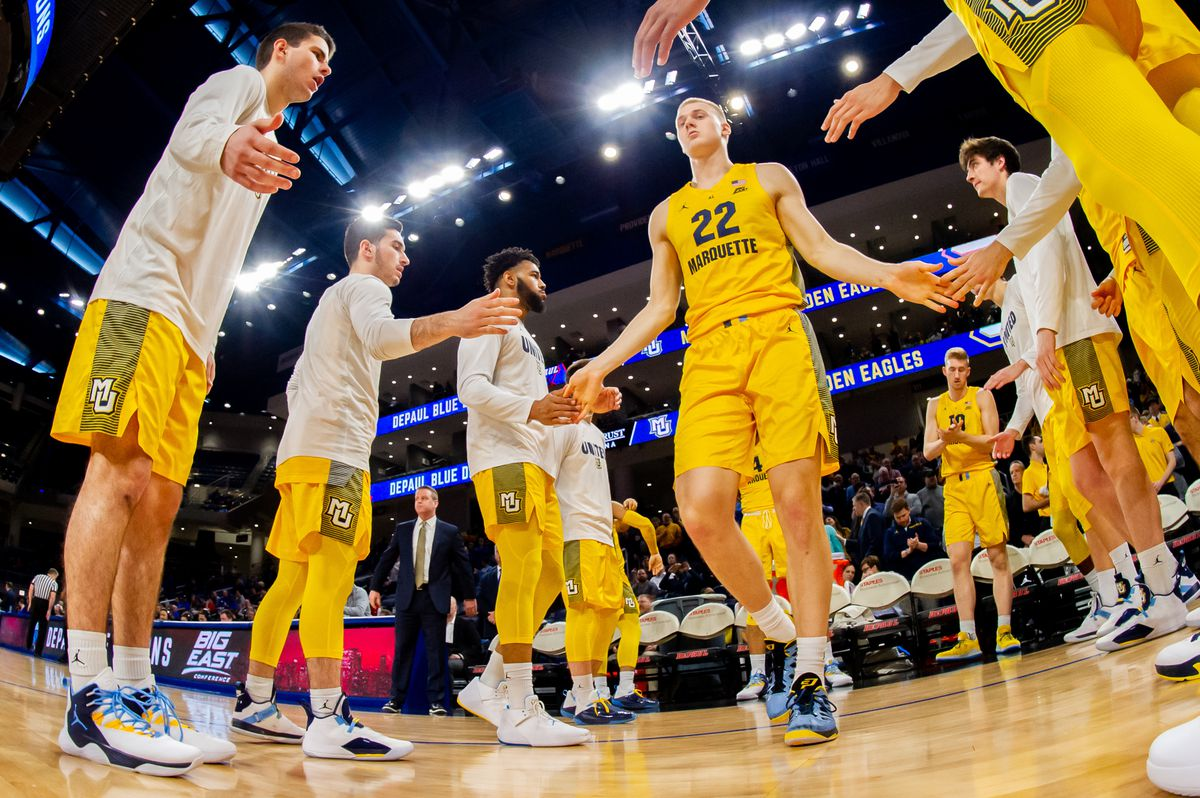 COLLEGE BASKETBALL: FEB 12 Marquette at DePaul