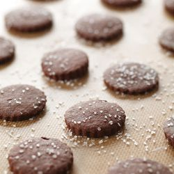 """Salt and Pepper Chocolate Cookies from """"Small Sweet Treats"""" by Marguerite Marceau Henderson."""